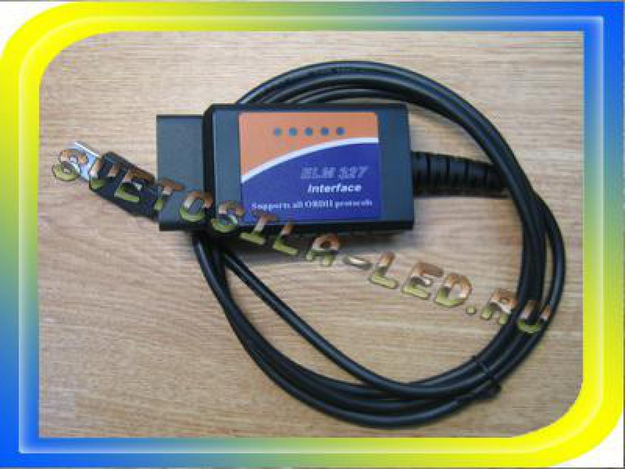 Автосканер ELM327 OBD2 USB